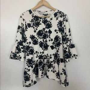 New CHELSEA & THEODORE Shirt Top Blouse Floral